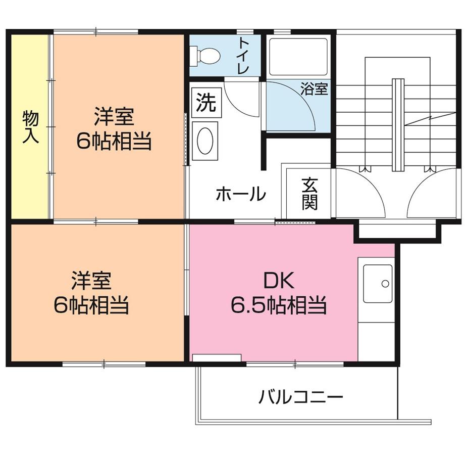 白旗台団地 1-407号室